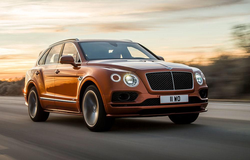 Bentley pregătește un facelift pentru cel mai rapid SUV de serie din lume: noul Bentayga Speed va fi prezentat în 12 august - Poza 1