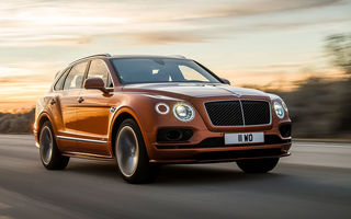 Bentley pregătește un facelift pentru cel mai rapid SUV de serie din lume: noul Bentayga Speed va fi prezentat în 12 august