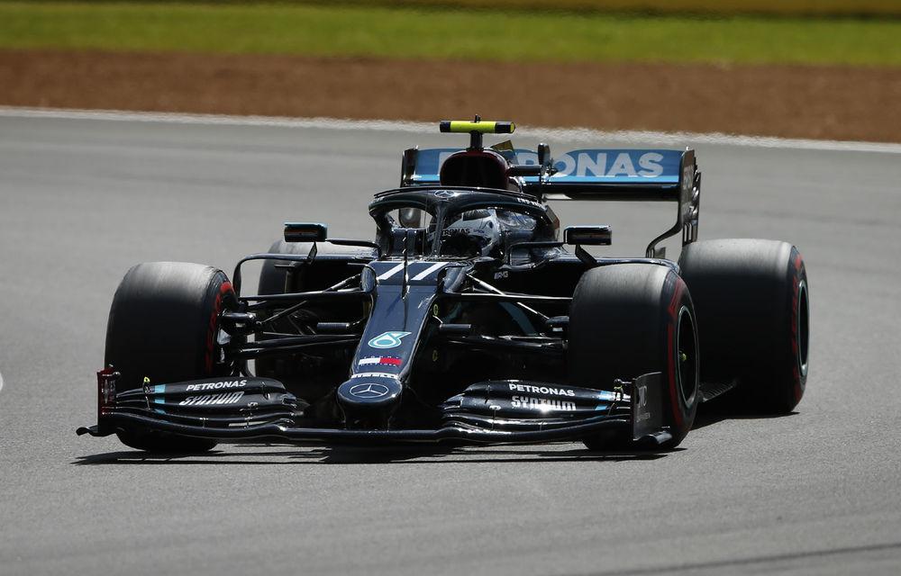 Bottas și Hamilton, cei mai rapizi în atrenamentele de Formula 1 de la Silverstone - Poza 1