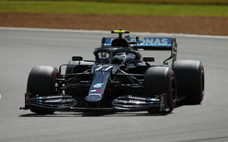 Bottas și Hamilton, cei mai rapizi în atrenamentele de Formula 1 de la Silverstone