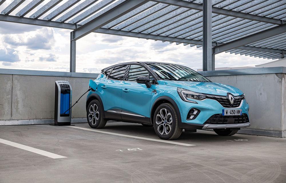 Renault deschide în România pre-comenzile pentru versiunea plug-in hybrid a lui Captur: 28.800 de euro pentru varianta de echipare de top - Poza 1