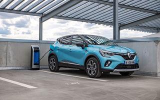 Renault deschide în România pre-comenzile pentru versiunea plug-in hybrid a lui Captur: 28.800 de euro pentru varianta de echipare de top