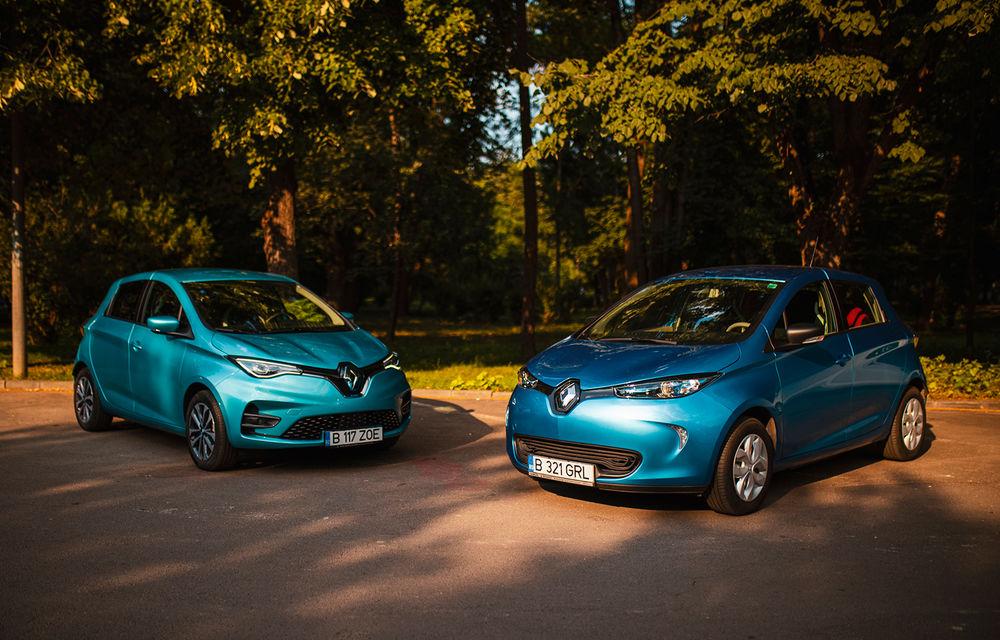 În familie: vechiul Renault Zoe întâlnește noul Zoe. Plusuri și minusuri venite din partea unui client - Poza 1
