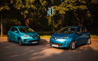 În familie: vechiul Renault Zoe întâlnește noul Zoe. Plusuri și minusuri venite din partea unui client