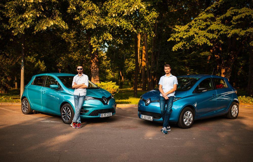 În familie: vechiul Renault Zoe întâlnește noul Zoe. Plusuri și minusuri venite din partea unui client - Poza 16