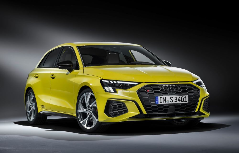 Audi a prezentat noile S3 Sportback și S3 Sedan: motor de 2.0 litri cu 310 CP și 400 Nm - Poza 16