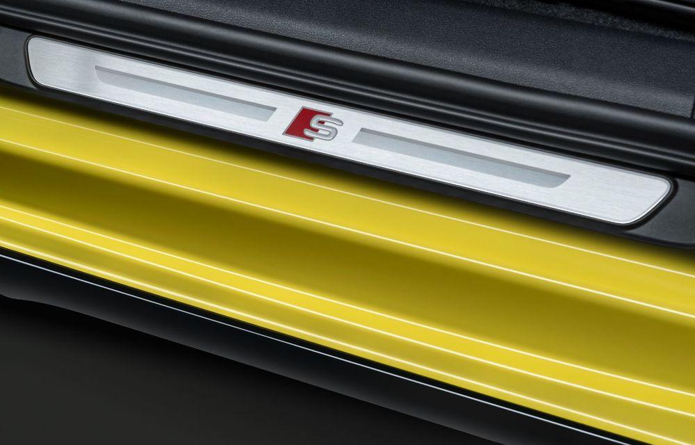 Audi a prezentat noile S3 Sportback și S3 Sedan: motor de 2.0 litri cu 310 CP și 400 Nm - Poza 41