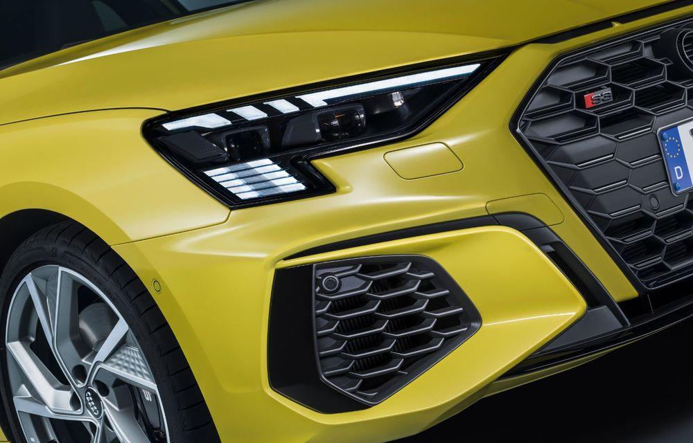 Audi a prezentat noile S3 Sportback și S3 Sedan: motor de 2.0 litri cu 310 CP și 400 Nm - Poza 37