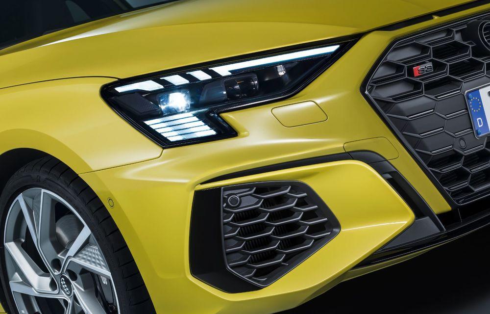Audi a prezentat noile S3 Sportback și S3 Sedan: motor de 2.0 litri cu 310 CP și 400 Nm - Poza 38
