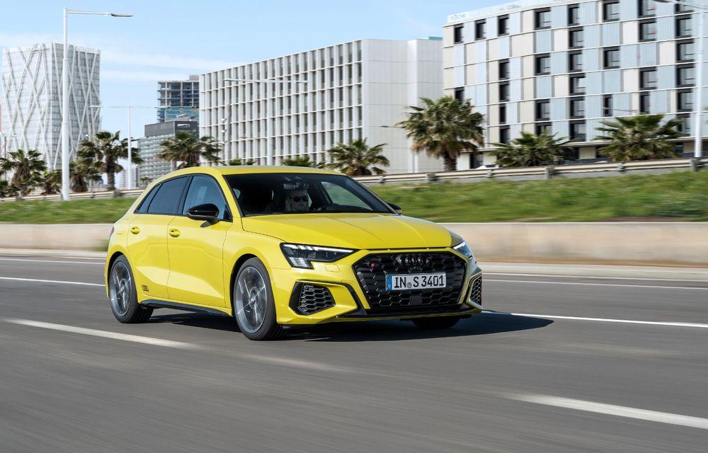 Audi a prezentat noile S3 Sportback și S3 Sedan: motor de 2.0 litri cu 310 CP și 400 Nm - Poza 30
