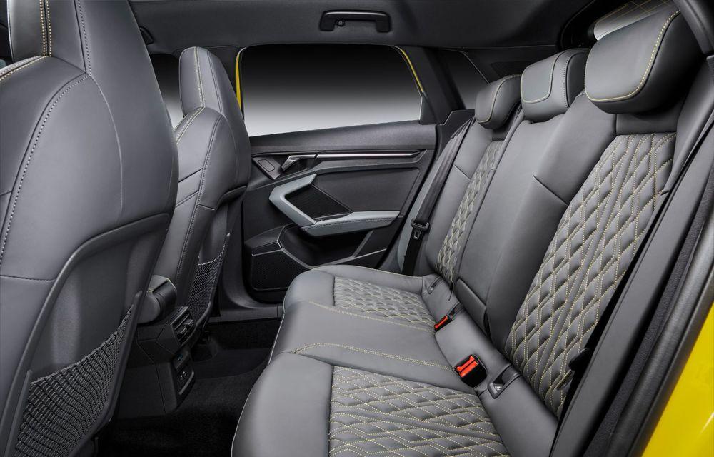 Audi a prezentat noile S3 Sportback și S3 Sedan: motor de 2.0 litri cu 310 CP și 400 Nm - Poza 54
