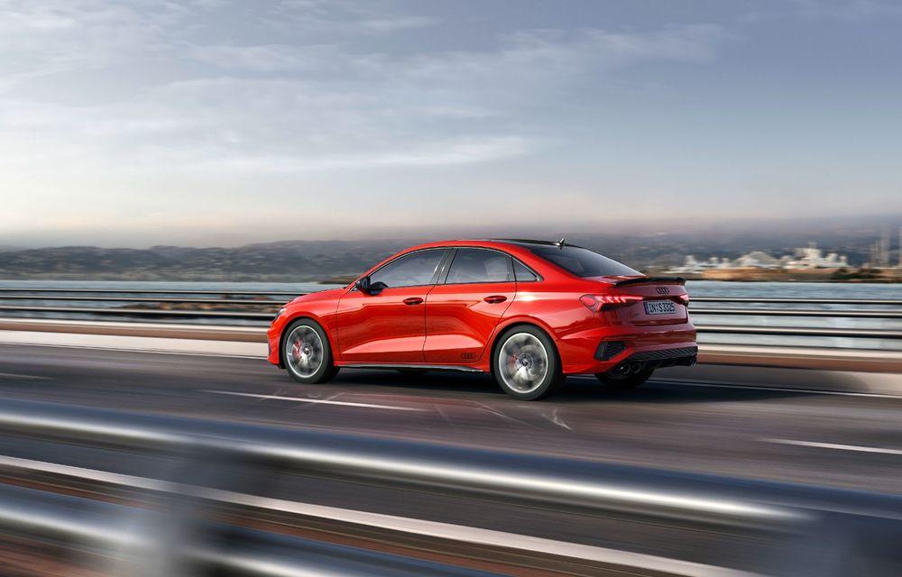 Audi a prezentat noile S3 Sportback și S3 Sedan: motor de 2.0 litri cu 310 CP și 400 Nm - Poza 11