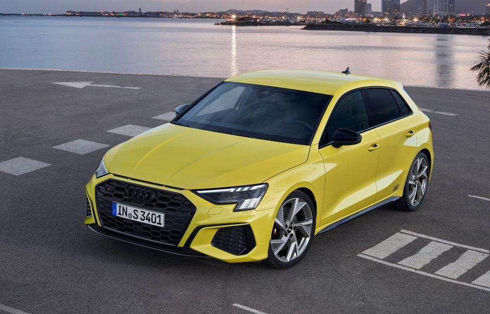 Audi a prezentat noile S3 Sportback și S3 Sedan: motor de 2.0 litri cu 310 CP și 400 Nm - Poza 23