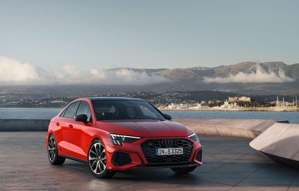 Audi a prezentat noile S3 Sportback și S3 Sedan: motor de 2.0 litri cu 310 CP și 400 Nm - Poza 7