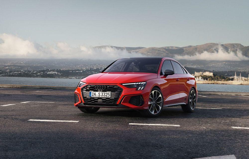 Audi a prezentat noile S3 Sportback și S3 Sedan: motor de 2.0 litri cu 310 CP și 400 Nm - Poza 5
