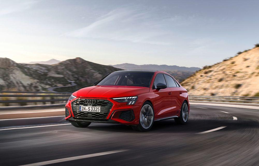 Audi a prezentat noile S3 Sportback și S3 Sedan: motor de 2.0 litri cu 310 CP și 400 Nm - Poza 12