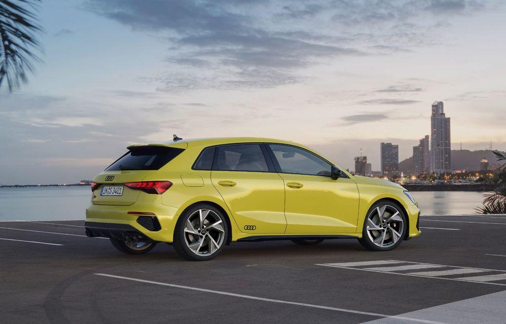 Audi a prezentat noile S3 Sportback și S3 Sedan: motor de 2.0 litri cu 310 CP și 400 Nm - Poza 24