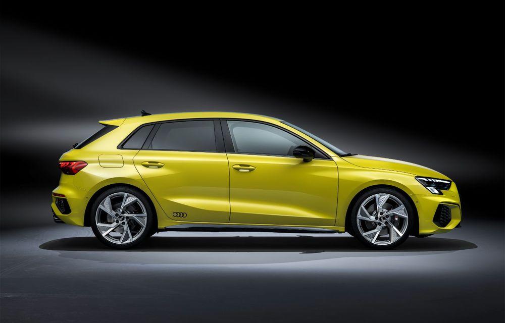 Audi a prezentat noile S3 Sportback și S3 Sedan: motor de 2.0 litri cu 310 CP și 400 Nm - Poza 19