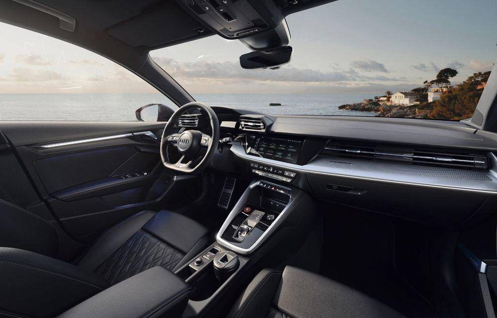 Audi a prezentat noile S3 Sportback și S3 Sedan: motor de 2.0 litri cu 310 CP și 400 Nm - Poza 43
