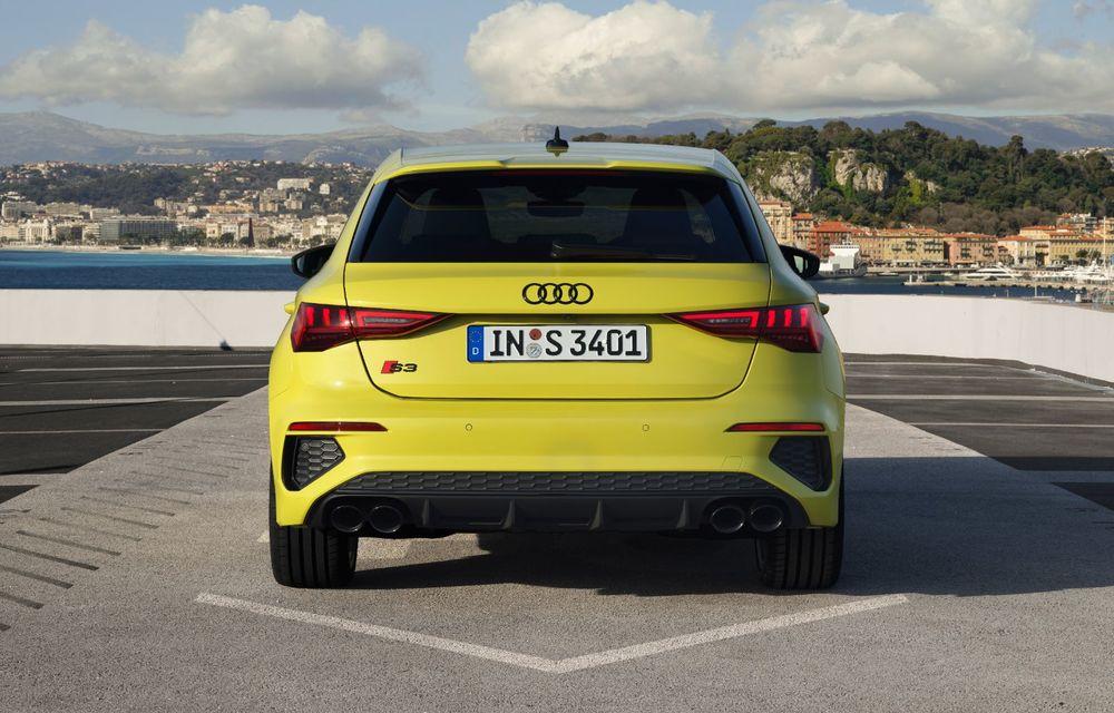 Audi a prezentat noile S3 Sportback și S3 Sedan: motor de 2.0 litri cu 310 CP și 400 Nm - Poza 28