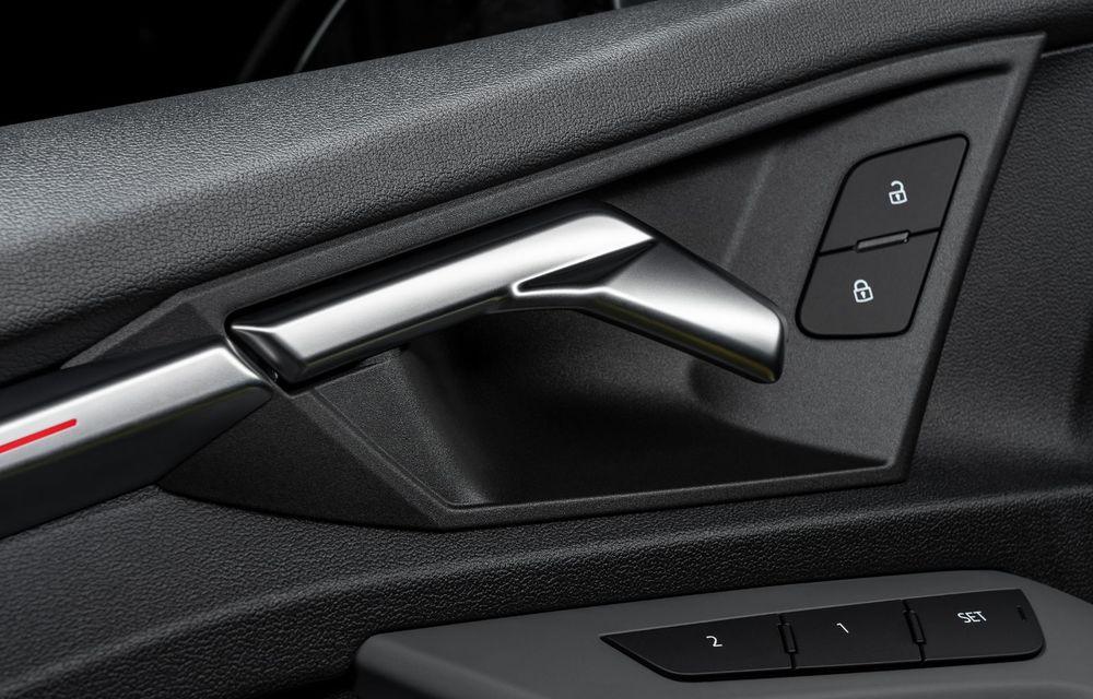 Audi a prezentat noile S3 Sportback și S3 Sedan: motor de 2.0 litri cu 310 CP și 400 Nm - Poza 47