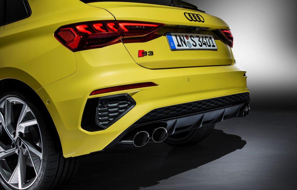 Audi a prezentat noile S3 Sportback și S3 Sedan: motor de 2.0 litri cu 310 CP și 400 Nm - Poza 39