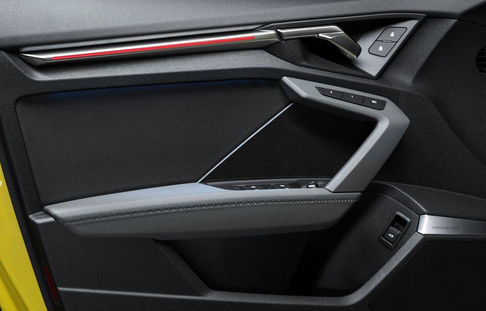 Audi a prezentat noile S3 Sportback și S3 Sedan: motor de 2.0 litri cu 310 CP și 400 Nm - Poza 46