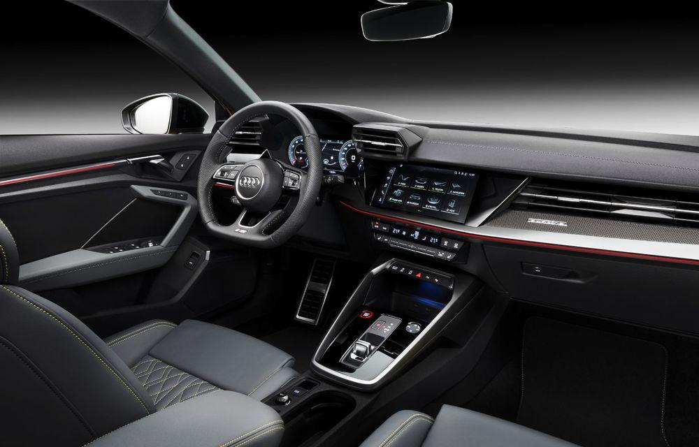 Audi a prezentat noile S3 Sportback și S3 Sedan: motor de 2.0 litri cu 310 CP și 400 Nm - Poza 50