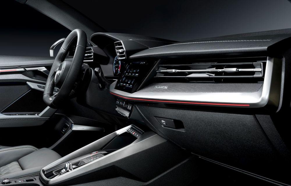 Audi a prezentat noile S3 Sportback și S3 Sedan: motor de 2.0 litri cu 310 CP și 400 Nm - Poza 51