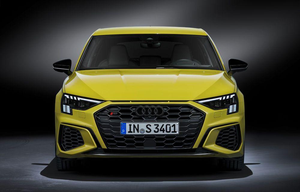 Audi a prezentat noile S3 Sportback și S3 Sedan: motor de 2.0 litri cu 310 CP și 400 Nm - Poza 15