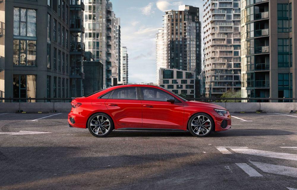 Audi a prezentat noile S3 Sportback și S3 Sedan: motor de 2.0 litri cu 310 CP și 400 Nm - Poza 4
