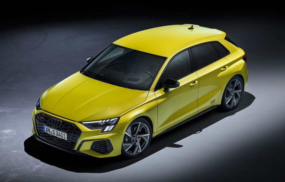Audi a prezentat noile S3 Sportback și S3 Sedan: motor de 2.0 litri cu 310 CP și 400 Nm - Poza 21