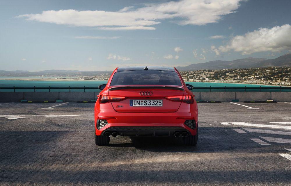 Audi a prezentat noile S3 Sportback și S3 Sedan: motor de 2.0 litri cu 310 CP și 400 Nm - Poza 3