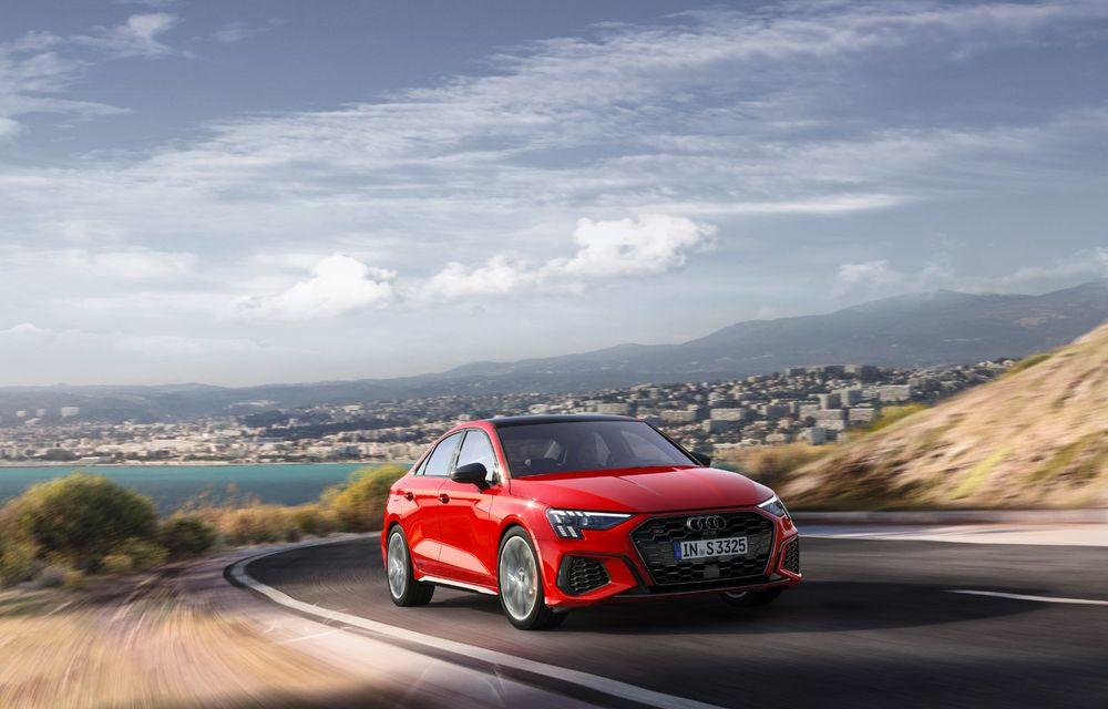 Audi a prezentat noile S3 Sportback și S3 Sedan: motor de 2.0 litri cu 310 CP și 400 Nm - Poza 10