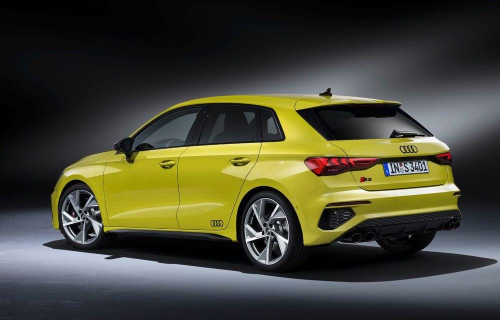 Audi a prezentat noile S3 Sportback și S3 Sedan: motor de 2.0 litri cu 310 CP și 400 Nm - Poza 18