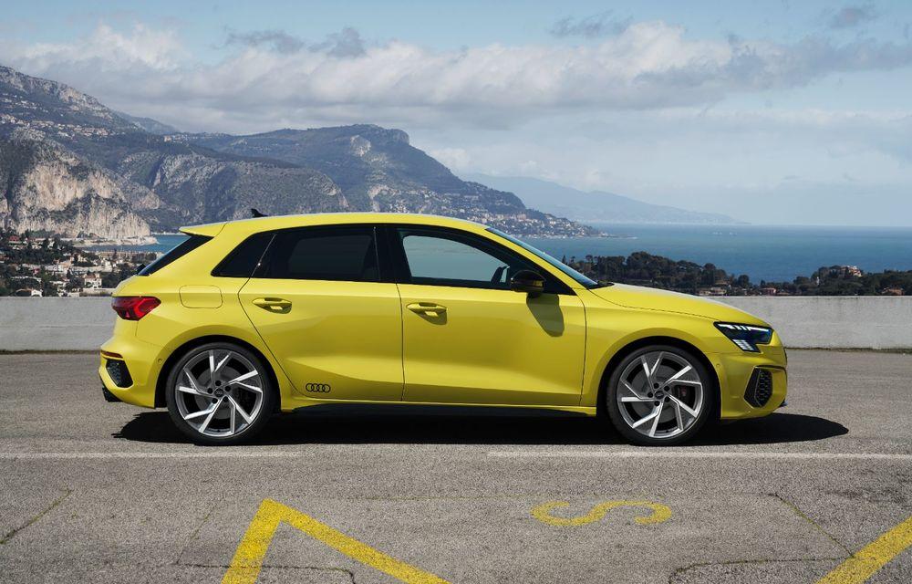 Audi a prezentat noile S3 Sportback și S3 Sedan: motor de 2.0 litri cu 310 CP și 400 Nm - Poza 26