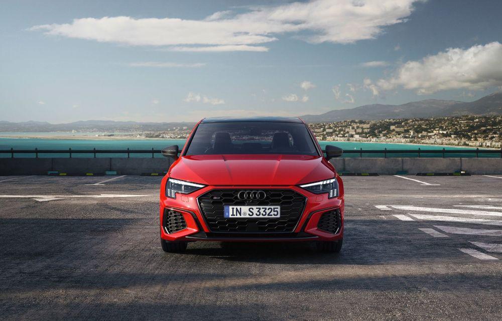 Audi a prezentat noile S3 Sportback și S3 Sedan: motor de 2.0 litri cu 310 CP și 400 Nm - Poza 2