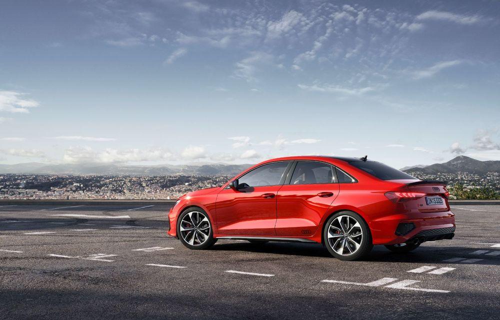 Audi a prezentat noile S3 Sportback și S3 Sedan: motor de 2.0 litri cu 310 CP și 400 Nm - Poza 8
