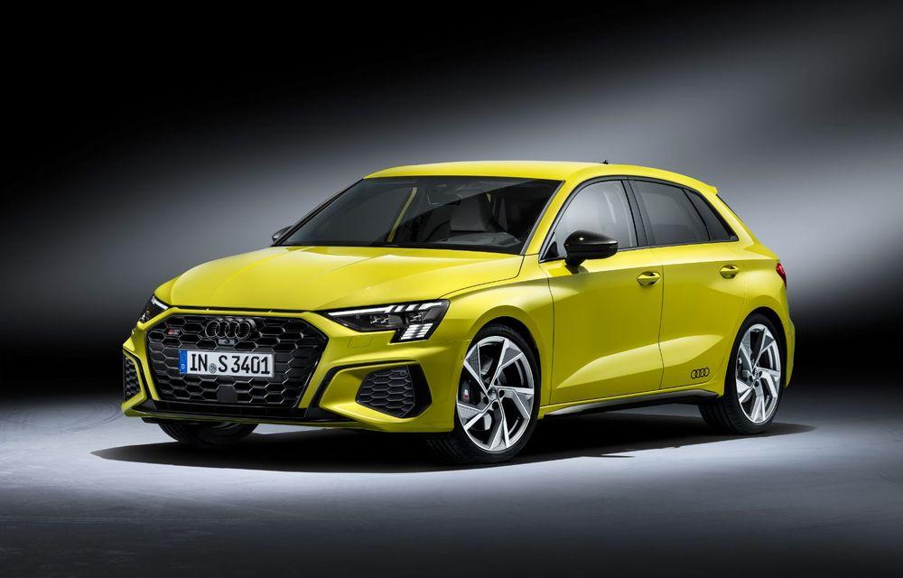 Audi a prezentat noile S3 Sportback și S3 Sedan: motor de 2.0 litri cu 310 CP și 400 Nm - Poza 14