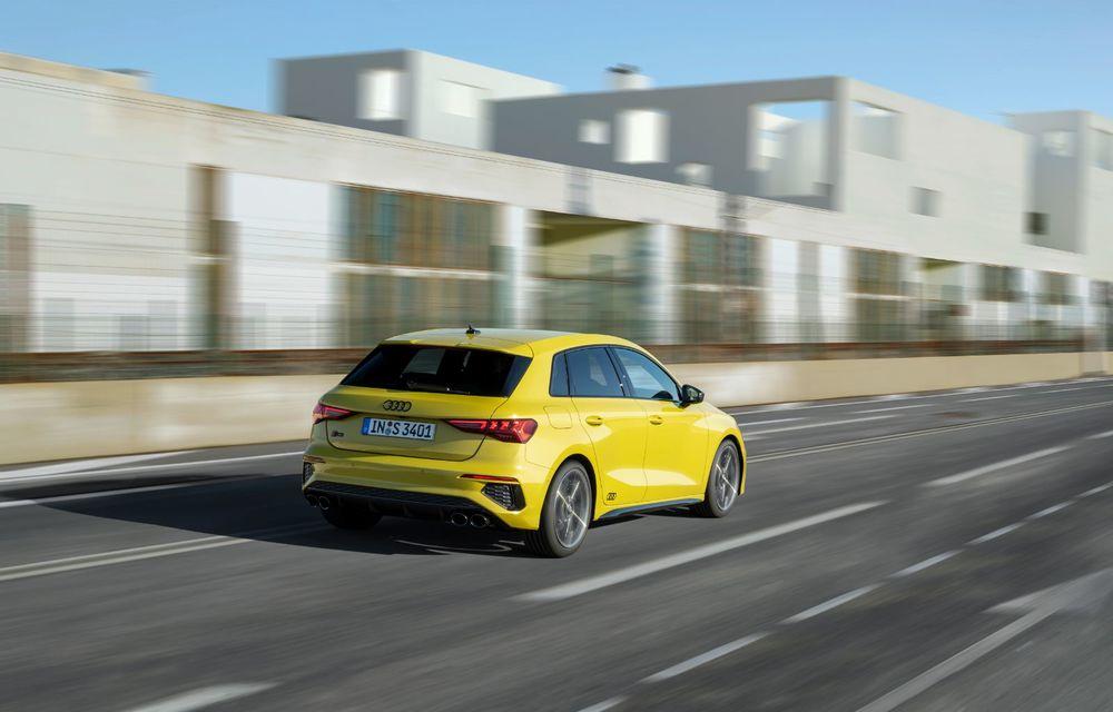 Audi a prezentat noile S3 Sportback și S3 Sedan: motor de 2.0 litri cu 310 CP și 400 Nm - Poza 32