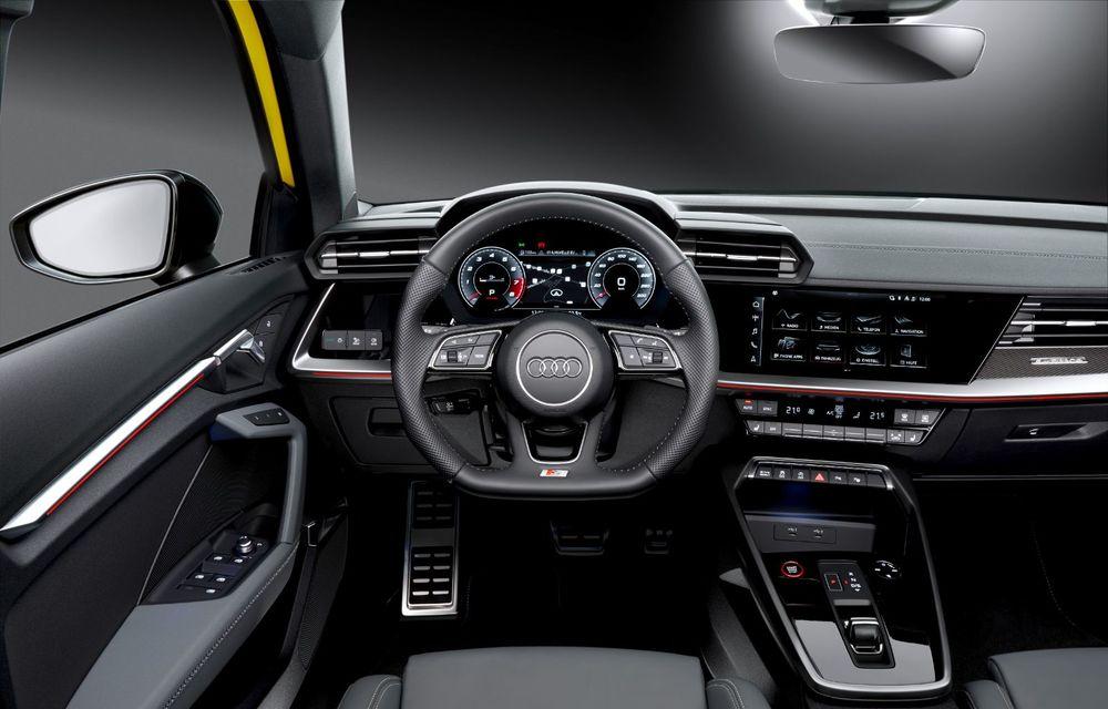 Audi a prezentat noile S3 Sportback și S3 Sedan: motor de 2.0 litri cu 310 CP și 400 Nm - Poza 52