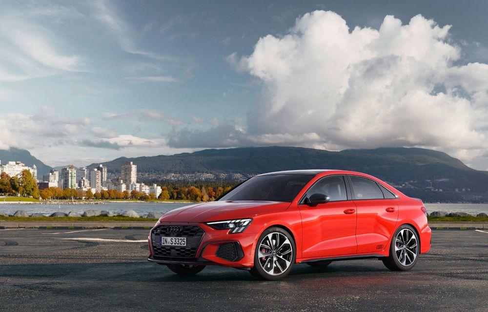 Audi a prezentat noile S3 Sportback și S3 Sedan: motor de 2.0 litri cu 310 CP și 400 Nm - Poza 9
