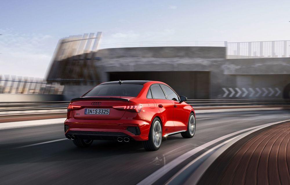 Audi a prezentat noile S3 Sportback și S3 Sedan: motor de 2.0 litri cu 310 CP și 400 Nm - Poza 13