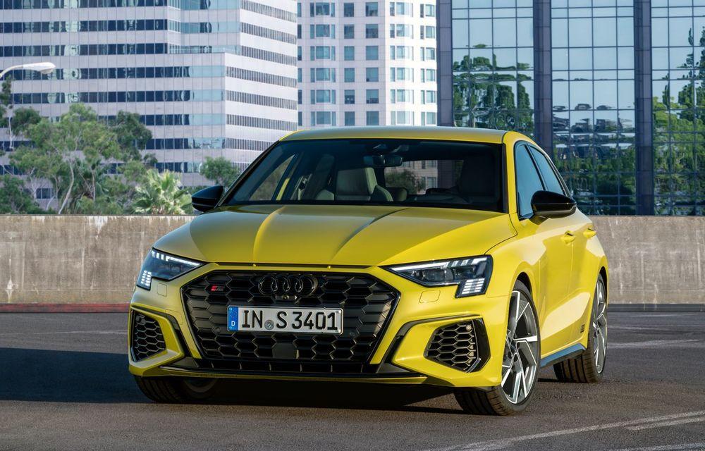 Audi a prezentat noile S3 Sportback și S3 Sedan: motor de 2.0 litri cu 310 CP și 400 Nm - Poza 22
