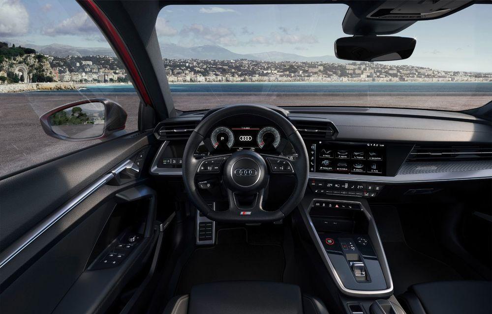 Audi a prezentat noile S3 Sportback și S3 Sedan: motor de 2.0 litri cu 310 CP și 400 Nm - Poza 42