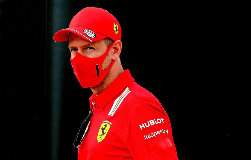 """Vettel acuză Ferrari că strategia de la Silverstone """"nu a avut niciun sens"""". Binotto: """"Nu l-am sacrificat pe german"""" - Poza 1"""