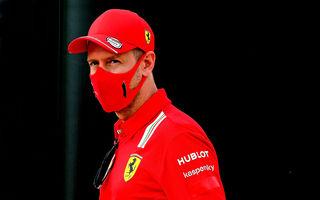 """Vettel acuză Ferrari că strategia de la Silverstone """"nu a avut niciun sens"""". Binotto: """"Nu l-am sacrificat pe german"""""""
