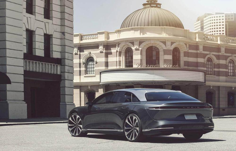 Lucid Air va fi primul model electric cu autonomie de peste 800 de kilometri: vânzările sedanului de lux vor începe în 2021 - Poza 5