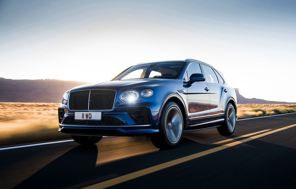 Bentley lansează Bentayga Speed facelift: SUV-ul britanic păstrează motorul W12 de 6.0 litri cu 635 de cai putere - Poza 1