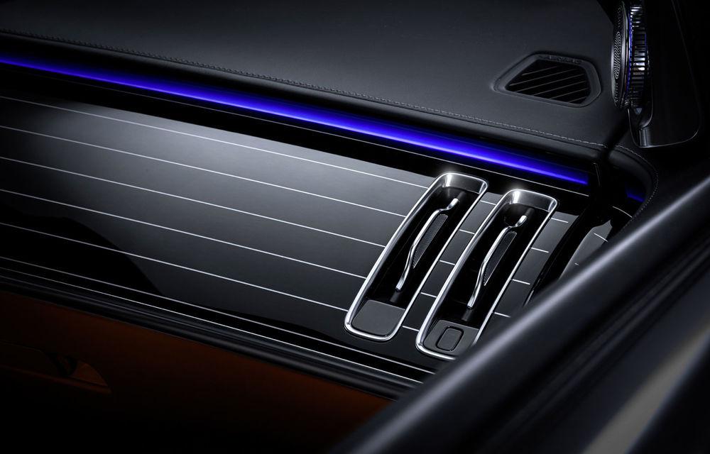 Detalii despre interiorul noii generații Mercedes-Benz Clasa S: sistemul de iluminare va oferi avertizări la activarea unor sisteme de asistență - Poza 4